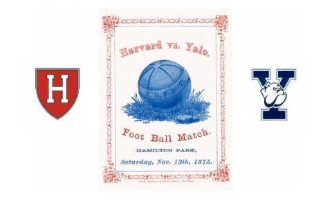 1875 The Game: Harvard vs. Yale