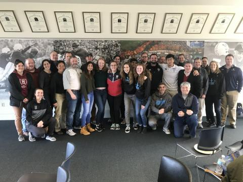 Ivy Rugby Conference hosted its AGM on Saturday January 27, 2018 at Yale's Kinney Center