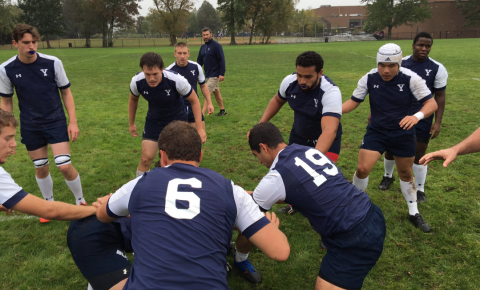 Yale Rugby prepares for Brown last Saturday