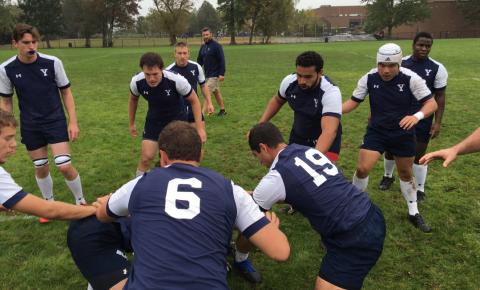 Yale Rugby prepares for Brown last Saturday