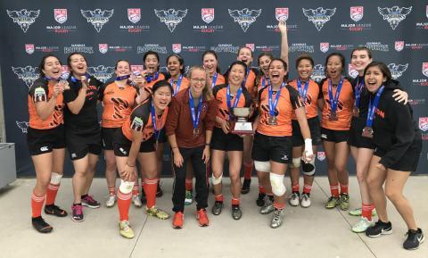 Princeton 7s Women Take 3rd at Nationals