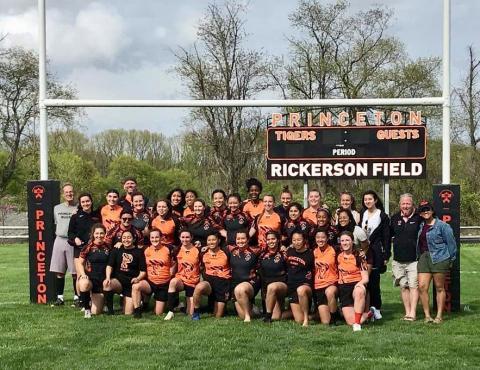 Princeton Women pose for team photo