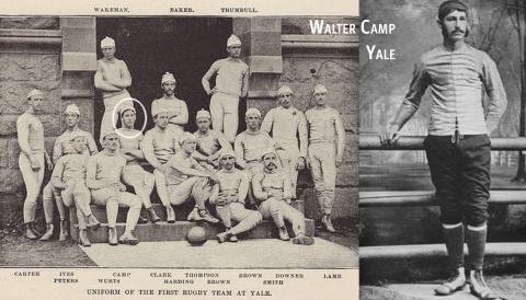 Walter Camp, Yale University