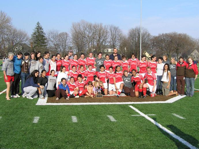 Brown University Rugby Women 2008
