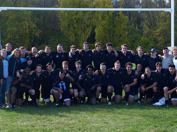 2008 Columbia Men's Rugby team