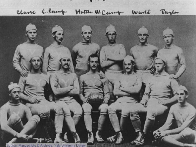 National Champion Yale Bulldogs
