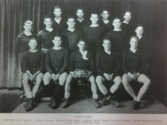 1932 Princeton Men's Rugby