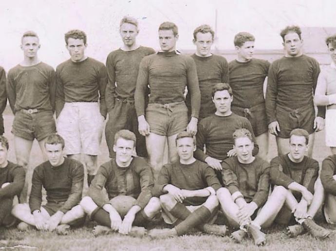 Harvard Rugby 1934