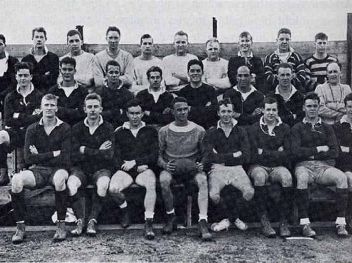 1936 Harvard Rugby Team