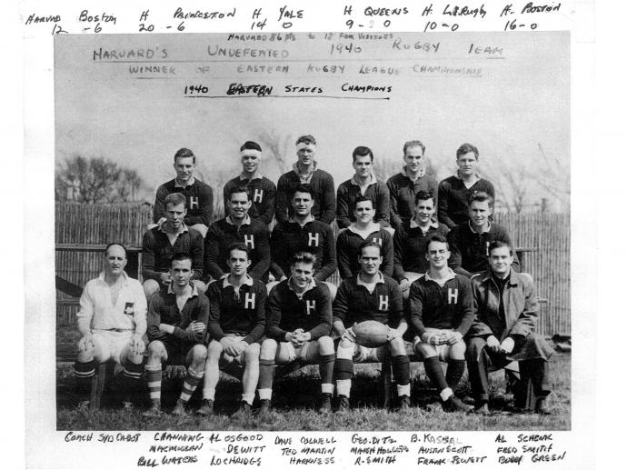 1940 Harvard Undefeated Championship Team