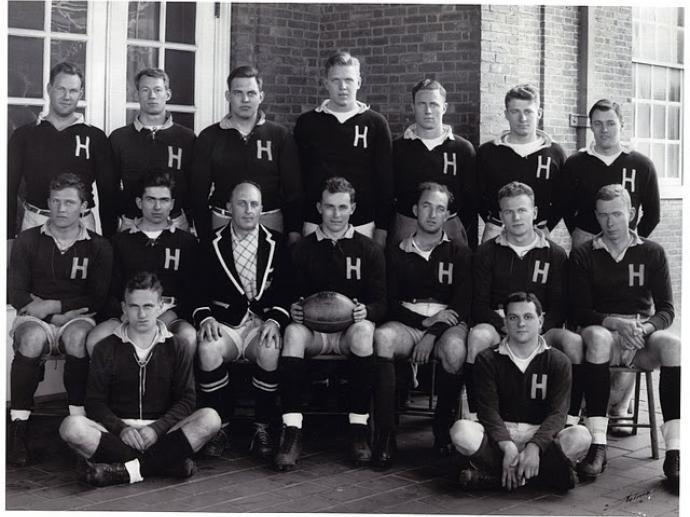 Harvard Men's Rugby team 1941