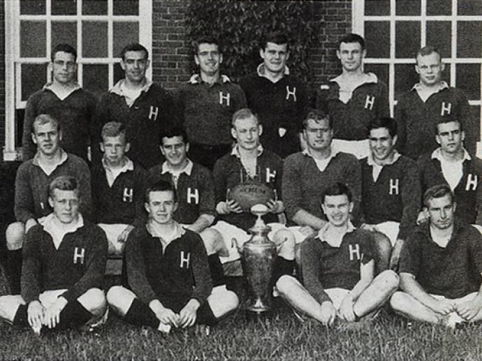 1954 Harvard Men's Rugby Football