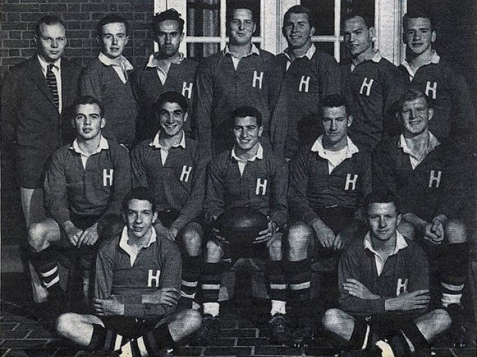 1955 Harvard Men Rugby Football