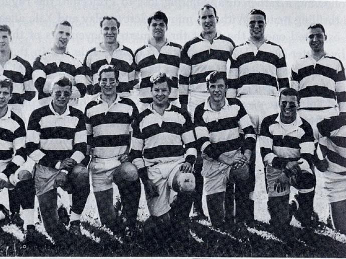 Harvard's 1963 Bermuda Week Champion
