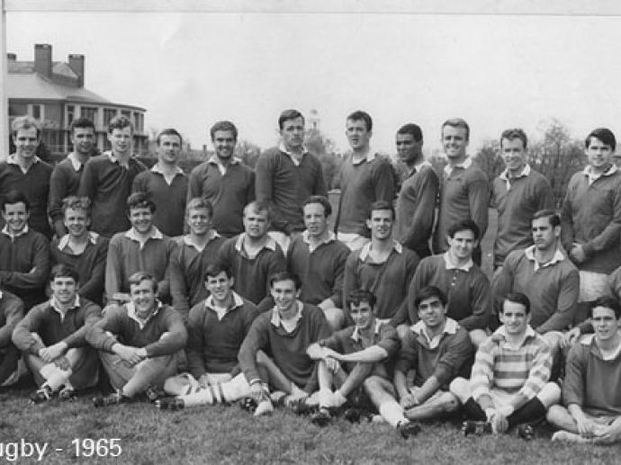 Harvard Busness School Rugby 1965