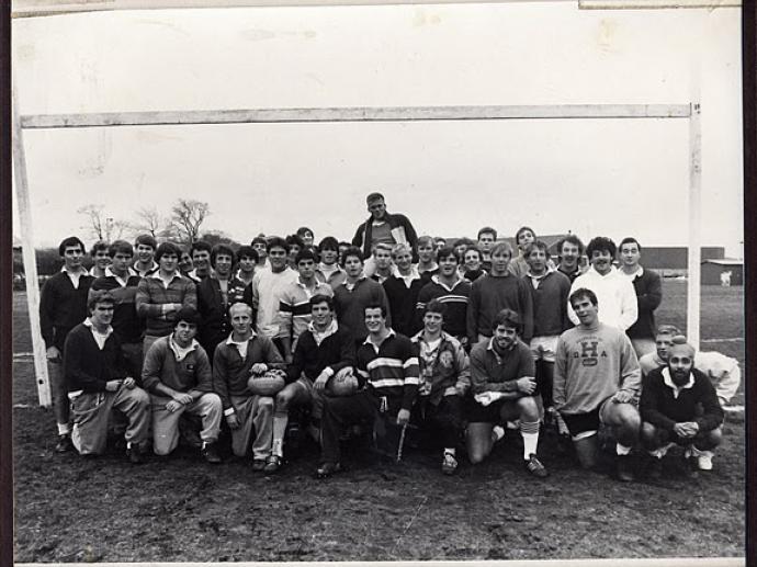 Harvard Rugby 1984
