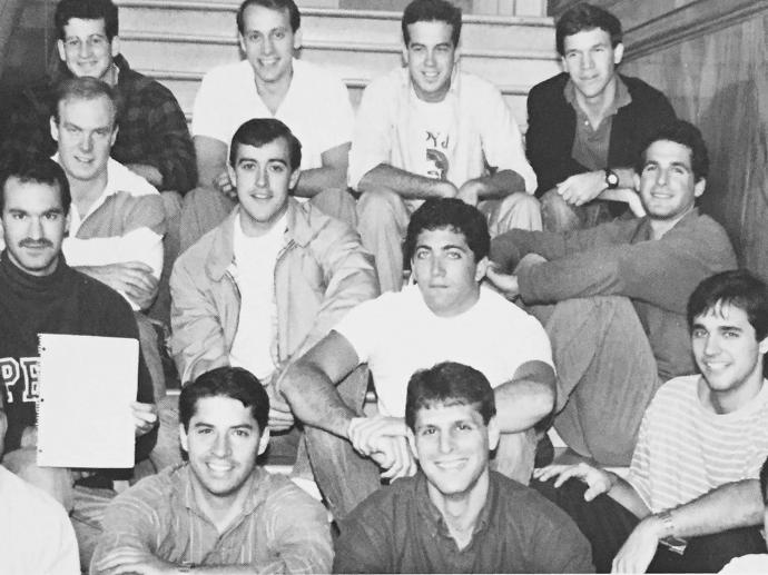 1990 Penn Law Rugby Football team