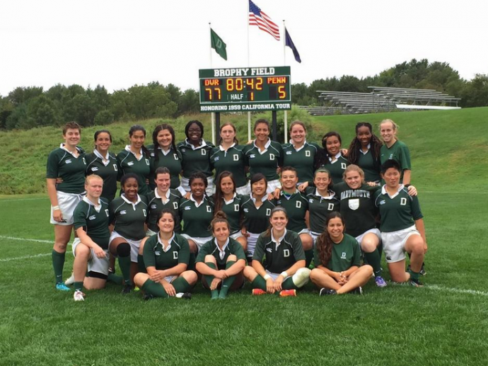 Dartmouth Women first varsity match