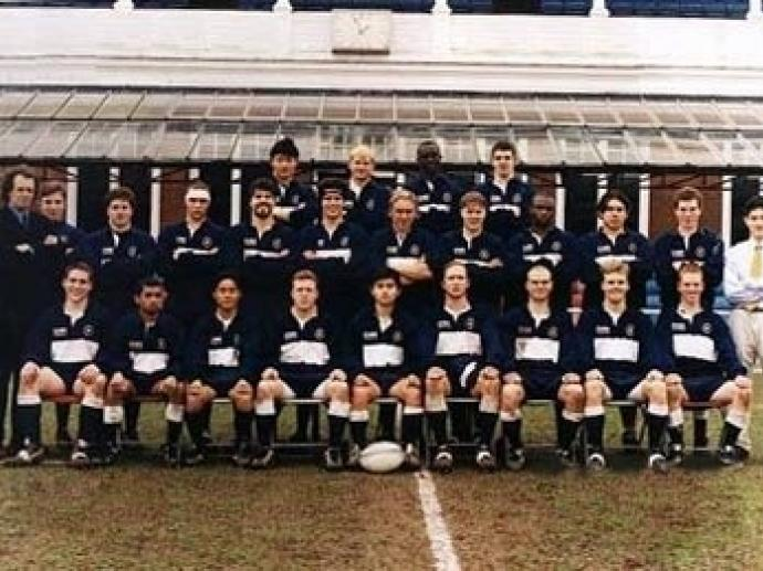 Yale Rugby at Cambridge University Spring 1999