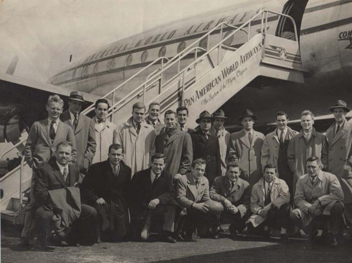 1947 Spring Trip to Bermuda - Yale