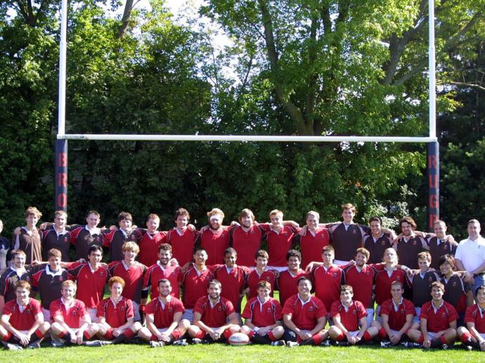 Brown University Men's Rugby Fall 2008