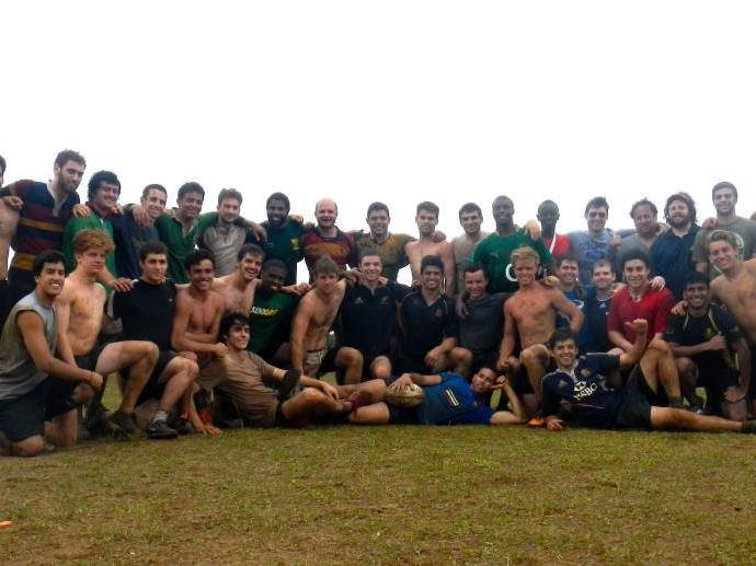 Columbia Men after Spring 2013 Bahamas Tour
