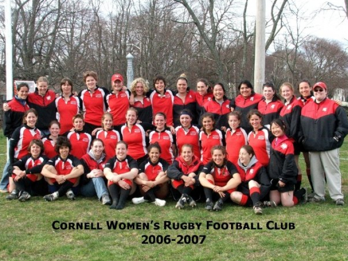 Cornell Women's Rugby Spring 2007