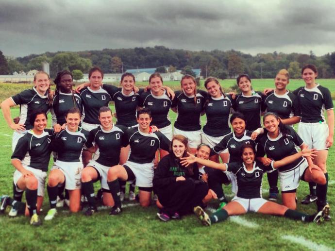 Fall 2013 Dartmouth Women's Rugby