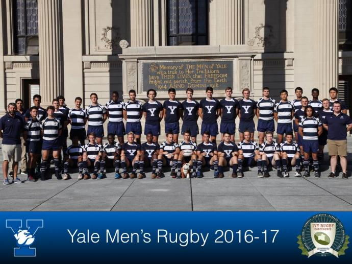 September 25, 2016 Yale Team Photo