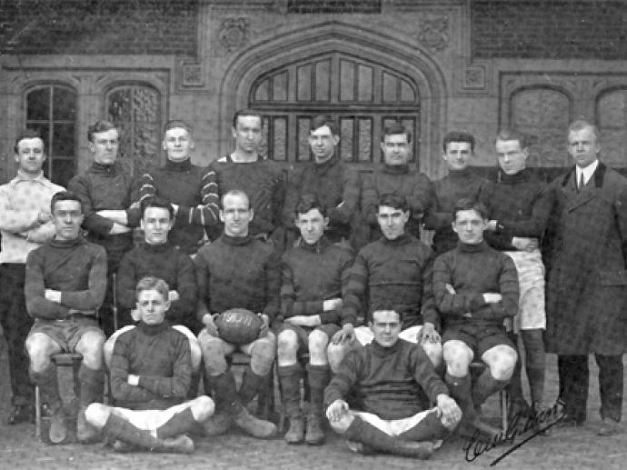 1910 Penn Men's Rugby team
