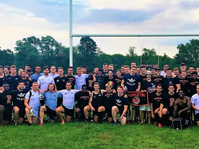 Princeton Men's Rugby September 2017