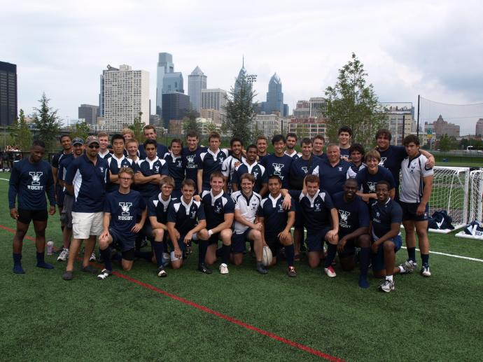 Fall 2011 Yale Men's rugby team