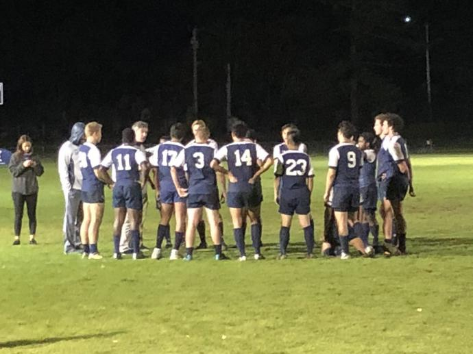Cornell Rugby wins scrum v Princeton