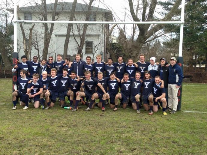 Yale Rugby spring 2016